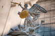 Hofburg in Vienna (Austria) | Statue of two fighting angels