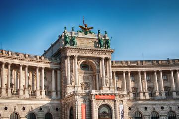 Hofburg in Vienna (Austria)