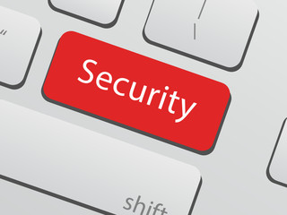 Computer security - keyboard button
