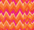 hot vector zig zag ikat seamless background