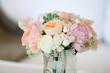 canvas print picture - Bouquet de mariée