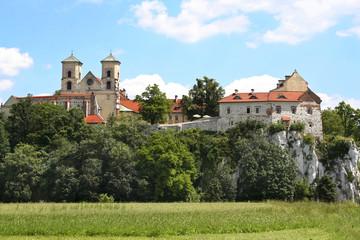 The Benedictine Abbey in Tyniec, Krakow, Poland
