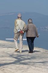 couple en promenade