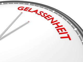 Zeit für GELASSENHEIT - 3D