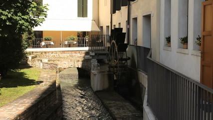 Mill. Treviso, Italy