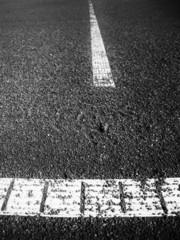 Tennisplatz Linie 82