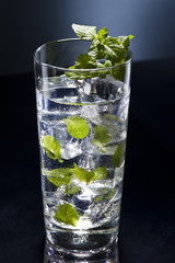 Green Mojito cocktail