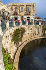 Fonte Aretusa, Siracusa, Sizilien