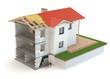 Construction House 3D