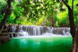 Fototapeta Krajobraz - Thailand waterfall in Kanjanaburi © Patrick Foto