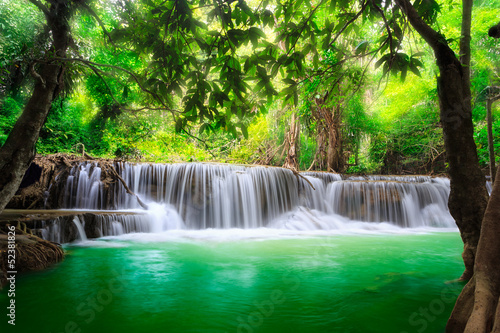 Thailand waterfall in Kanjanaburi Photo by Patrick Foto