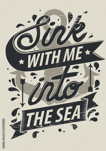 Live with me into the sea