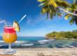 cocktail exotique aux Seychelles