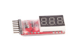 RC Voltage Lipo Battery Meter Indicator 2-6 cells LED poster