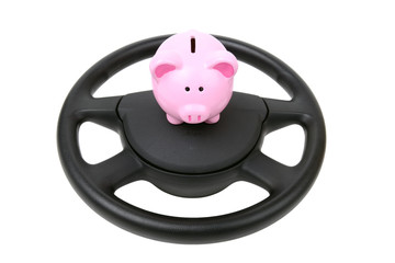 car loan piggy bank