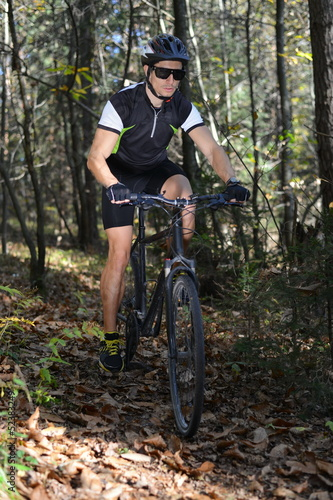 Mountain Biking, extreme cycling in the Forest