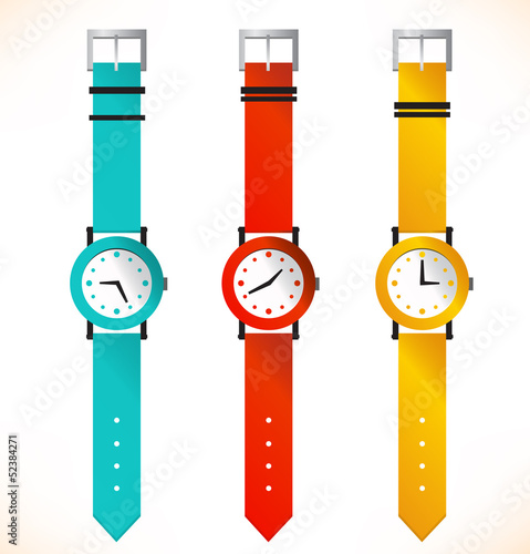 Isolated clocks  Wrist-watch  Set of clocks