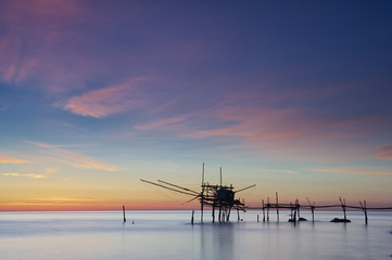 Trabocco, antica macchina da pesca
