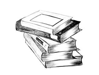 pile de livre d'école