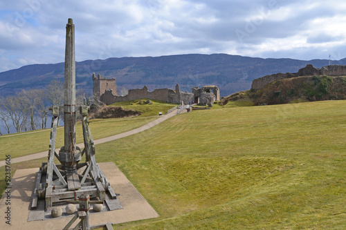 Trebuchet and Castle