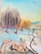 Light winter day