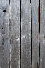 Weathered wooden planks