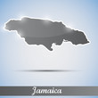 shiny icon in form of Jamaica