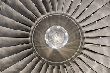 Jet engine detail