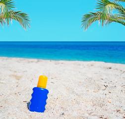 suntan and palms