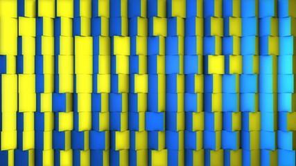 Three dimensional cubic transtions