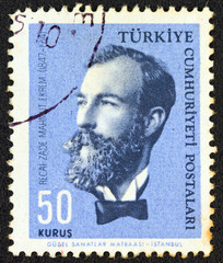 Author Recaizade Mahmut Ekrem (Turkey 1964)