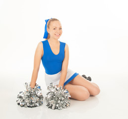 pretty  young cheerleader