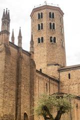 Piacenza - Belfry of ancient church
