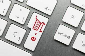 e-shop keyboard