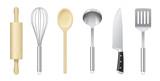 Fototapety Ustensiles de cuisine vectoriels 1