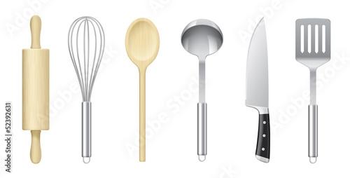 Ustensiles de cuisine vectoriels 1 - 52392631