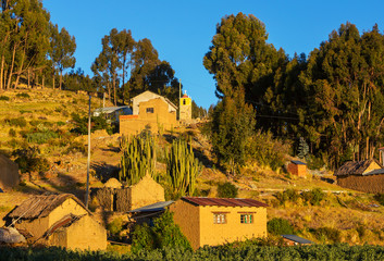Village in Bolivia
