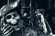 Skeleton Pirates Portrait