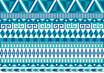Aztec Seamless Pattern 2