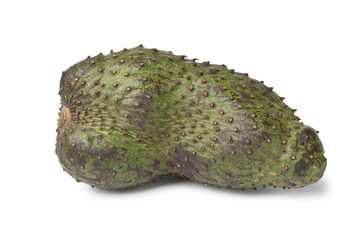 Single fresh soursop fruit