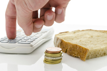 Calculating food expenses