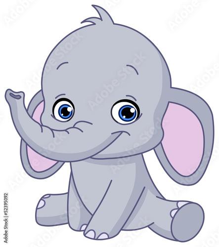 Fototapeten,elefant,baby,tier,vektor