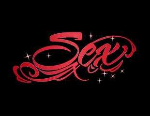 Sex word design