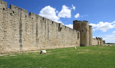 Fortification wall, Aigues-Mortes, France