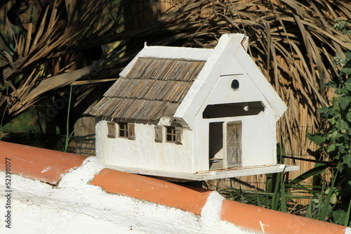 """Guardian"" house mailbox, Camargue, France"