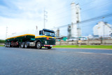 Tanker Truck transporter to factory