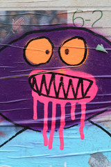 Street art -  Graffiti aérosol