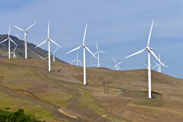 Wind power Eastern Washington.