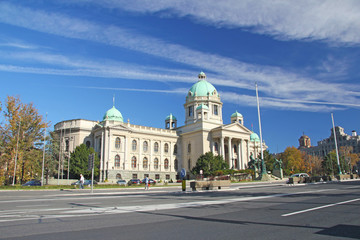 Parliament in Belgrade, Serbia