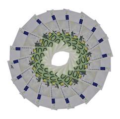 Cerchio di banconote